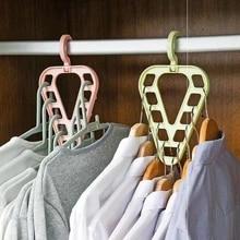 Hanger Closet-Organizer Scarf Storage Wardrobe Drying-Racks Multi-Function Magic-Clothes