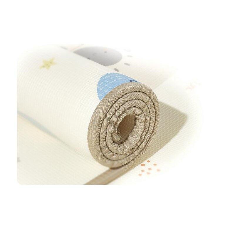 Bébé tapis rampant Anti-chute imperméable bébé tapis d'escalade Protection de l'environnement infantile tapis de jeu XPE tapis rampant tapis de pique-nique