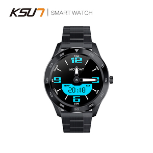 Image 4 - KSR909 ساعة ذكية تعمل باللمس كامل الشاشة IP68 مقاوم للماء ECG كشف بطلب للتغيير Smartwatch جهاز تعقب للياقة البدنية سوار ذكي