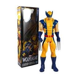 Чэн Юань анимированные X-Для мужчин 12-дюймовый Росомаха волк дядя Гараж Комплект модель куклы украшения-игрушка в подарок