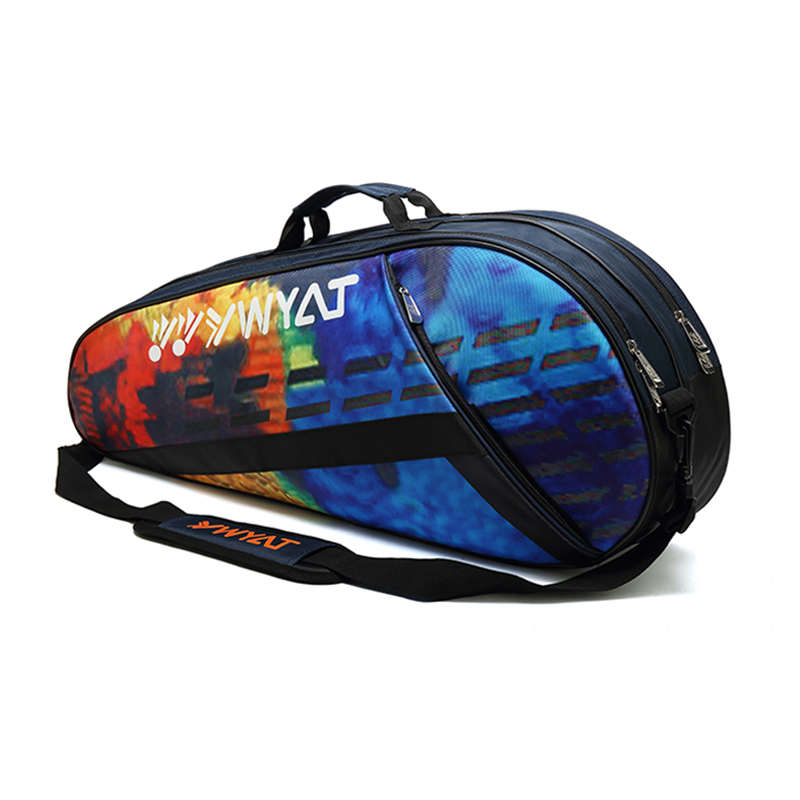 Tennis Backpack Tennis Racket Cover Bag Badminton with Shoes Compartment Thicken Waterproof Raquete Tenis Shoulder Bag