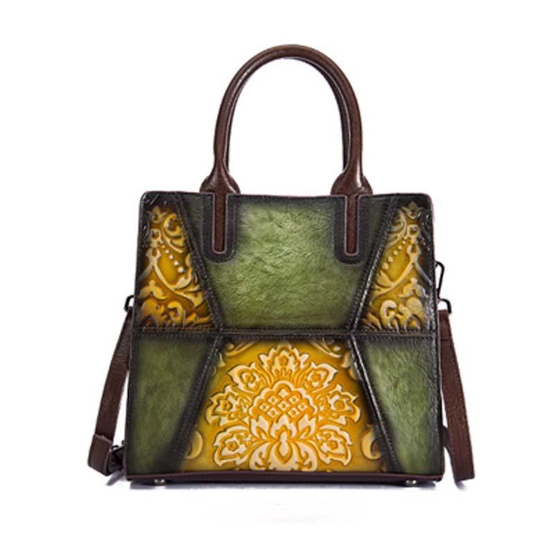 Pyaterochka Berühmte Marke 2019 Trend Handtasche Frauen Aus Echtem Leder Luxus Casual Schulter Taschen Hohe Qualität Günstige Hand Tasche - 2