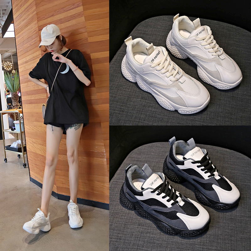 Womens Sneakers Shoes 2018 Fashion shoes Casual Woman Platform Tennis Female Woman-shoes Designer Thick Trainers Women's Summer