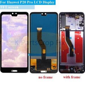 "Image 1 - TFT 6.1 ""LCD Für Huawei P20 Pro LCD mit rahmen Display Screen Touch Digitizer Montage P20 Pro CLT AL01 l29 Lcd P20 Plus Display"