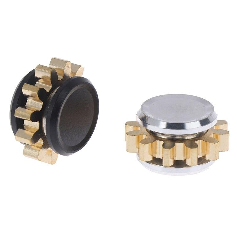 Spinner Fidget-Toy Gear Stress Relief Finger-Edc Metal-Alloy MINI Gift 1-Pc img2