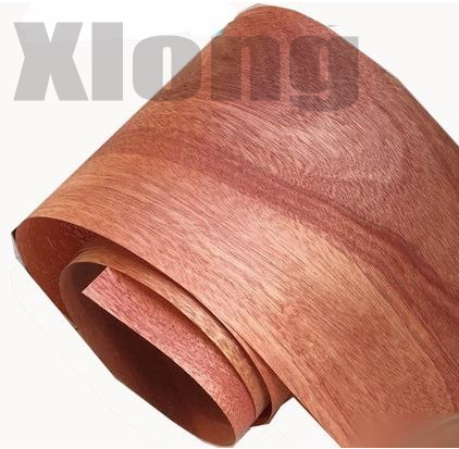 2Pieces/Lot  Length: 2.5Meters. Thickness:0.25mm  Width:15cm  Natural Peach Core Veneer