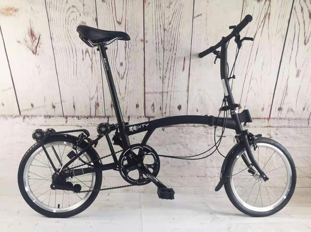 16inch Folding Bike Three Folding Bikes Chrome Molybdenum Steel Inner 3 Speed Folding Bike