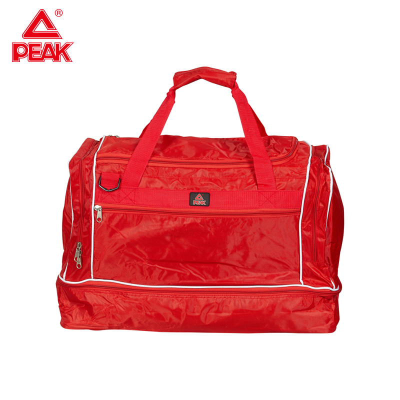PEAK Gym Sports Bags Large Capacity Sports Travel Bag Canvas Good Quality Eco-friendly