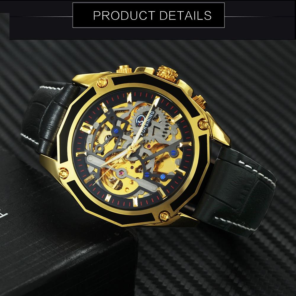 Hbbba238c21c44950a238c35ec56c00274 FORSINING Golden Top Brand Luxury Auto Mechanical Watch Men Stainless Steel Strap Skeleton Dial Fashion Business Wristwatches