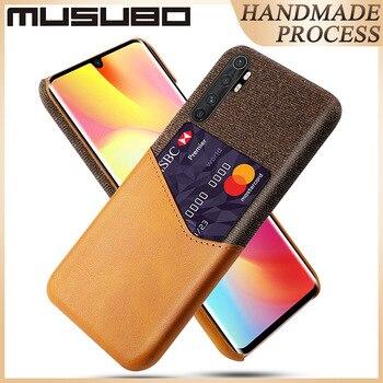 Musubo Luxury Case For XIAOMI Note 10 Lite MiX 3 2s F2 Back Cover For MI CC9E CC9 mi 9 SE 9 Lite 8X Fundas Card Holder Instagram