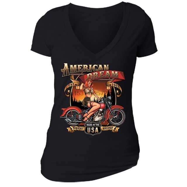 Route 66 Motorcycle Shirt 1
