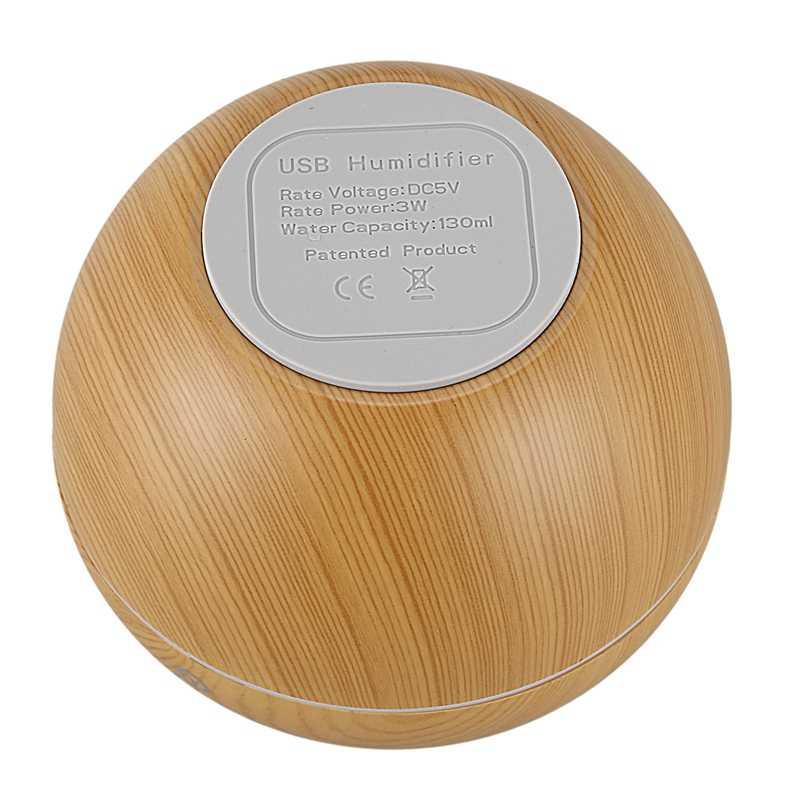 Mini Apple 130Ml Usb Ultrasonic Air Humidifier Diffusers น้ำมันหอมระเหยน้ำมัน Diffuser ความชื้นชุบสำหรับ Home Office
