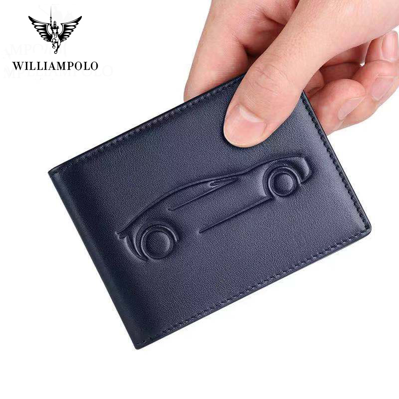 2019 Genuine Leather  Driver License Cover Card Holder Genuine Leather Men Photo Holder Black Brown Blue PL185138