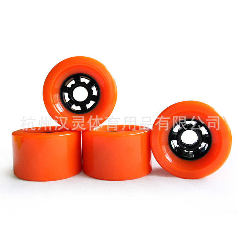 A Generation Of Fat Four Wheel Skateboard Wheel Electric Skateboard Wheel Long Board Big Wheel Shock Absorption 83X52 Size
