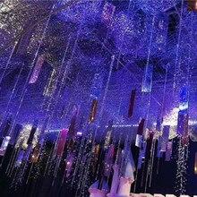 10 шт. креативные PE зеркальные блестки Свадебные потолочные фоновые украшения DIY Вечерние Декорации для сцены