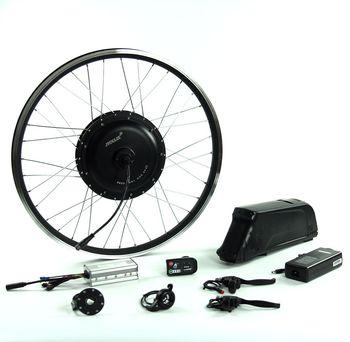 цена на New products 2017 ebike lithium battery 48v 1000w electric bike kit with flat bottle battery