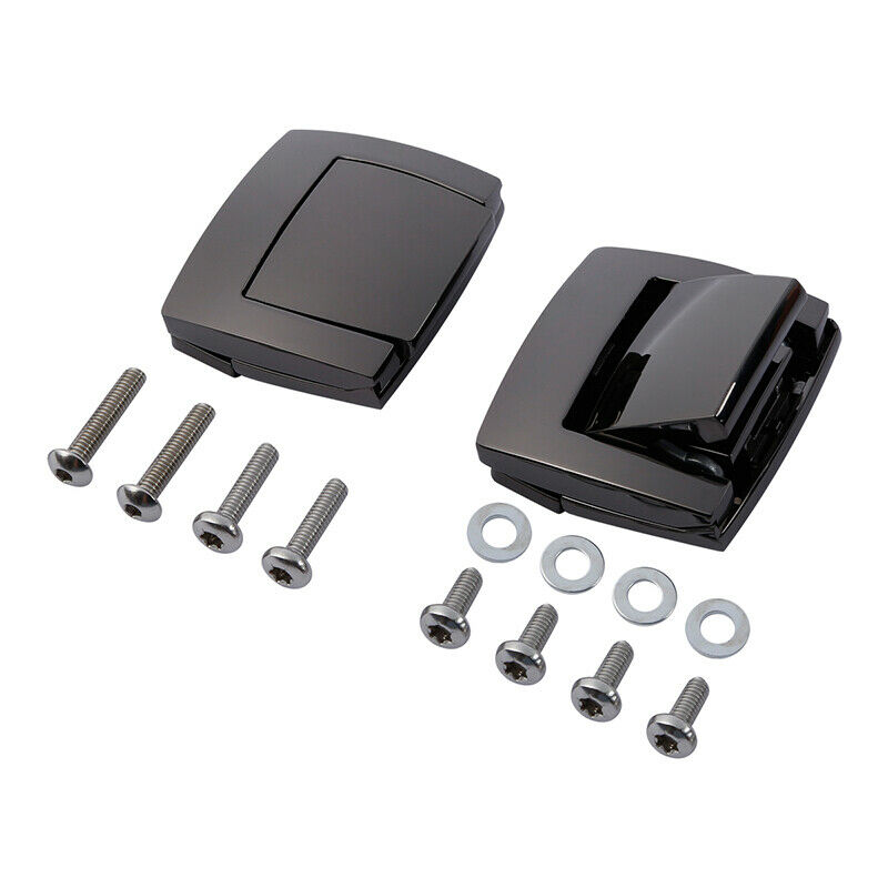 Motorcycle Black King Razor Tour Pack Pak Latch Black For Harley Touring Electra Glide 1980-2013 12 11 10 09 08 07 06 05 04  New