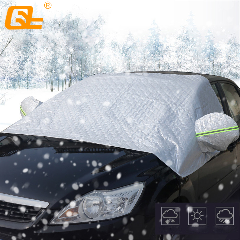 Winter Anti Frost Car Windscreen Snow Ice Cover Fits AUDI Q7 ALL YEARS