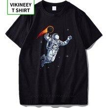 Eu Size Astronaut Spelen Maan T Shirt Als Basketbal Cool Design Kinderachtig Droom 100% Katoen Mars Tshirt