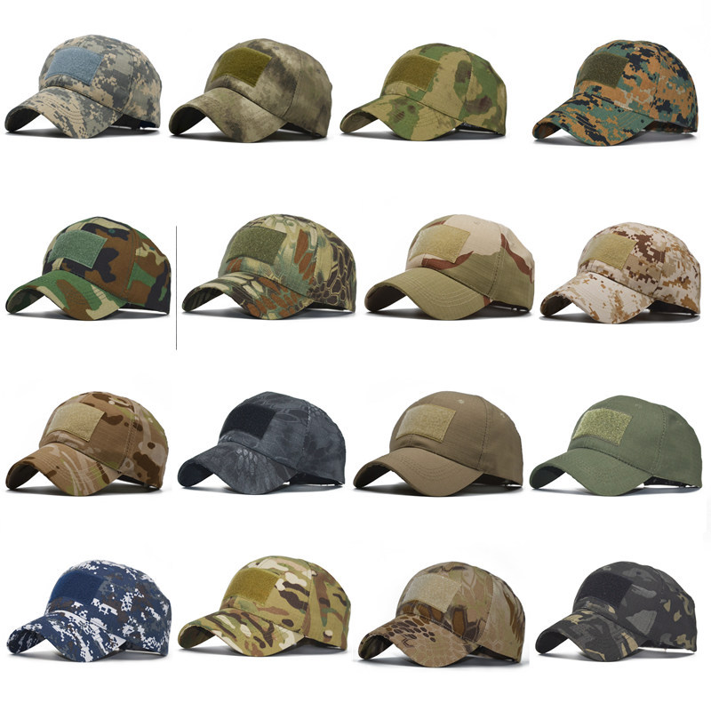 Sunscreen-Hat Baseball-Cap Fishing-Caps Army Military Hunting Tactical Hiking Camouflage title=