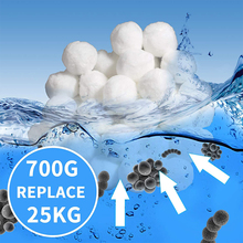 Water Cleanning Pool Filter Balls Eco-Friendly Fiber Filter Spherical Media For Indoor Outdoor Swimming Pool System Sand Filters