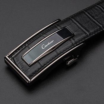 Ciartuar Leather Belt Automatic Buckle Belts for Mens Cow Genuine Leather  Men Designer Belt High Quality Fashion Strap Luxury