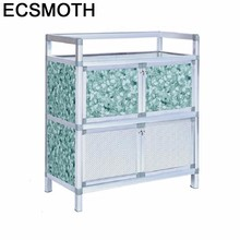 Приставные столы mobiliariio, Восстановленный долап каплама бесеклад из алюминиевого сплава, шкаф Mueble Cocina Meuble буфет