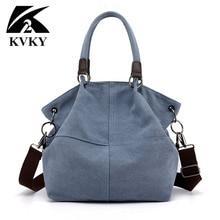 High Quality Canvas Women Handbag Casual Large Capacity Hobo
