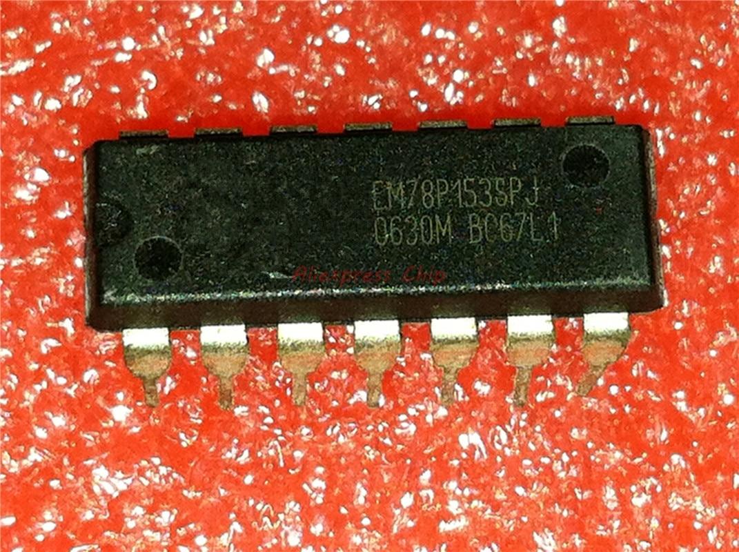 1pcs/lot EM78P153SPJ EM78P153 DIP-14
