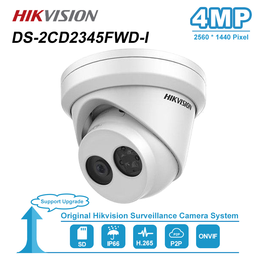 Hikvision 4MP IR Fest Revolver HD IP Kamera PoE Onvif Home/Outdoor Video CCTV Sicherheit Überwachung Nachtsicht Kameras