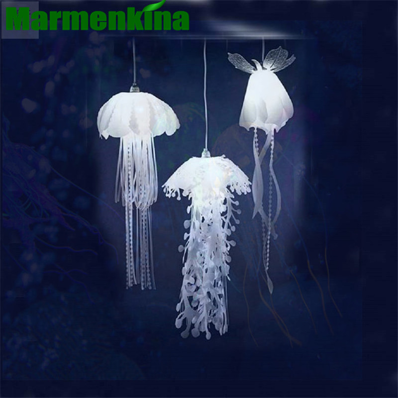New Medusae Pendant Lamps Glow Ethereal Jellyfish Droplight Acaleph HangingLight