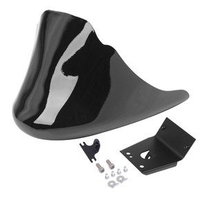 Motorcycle Black Front Bottom Spoiler Mudguard Air Dam Chin Fairing For Harley Sportster XL Iron 883 1200 Models(China)