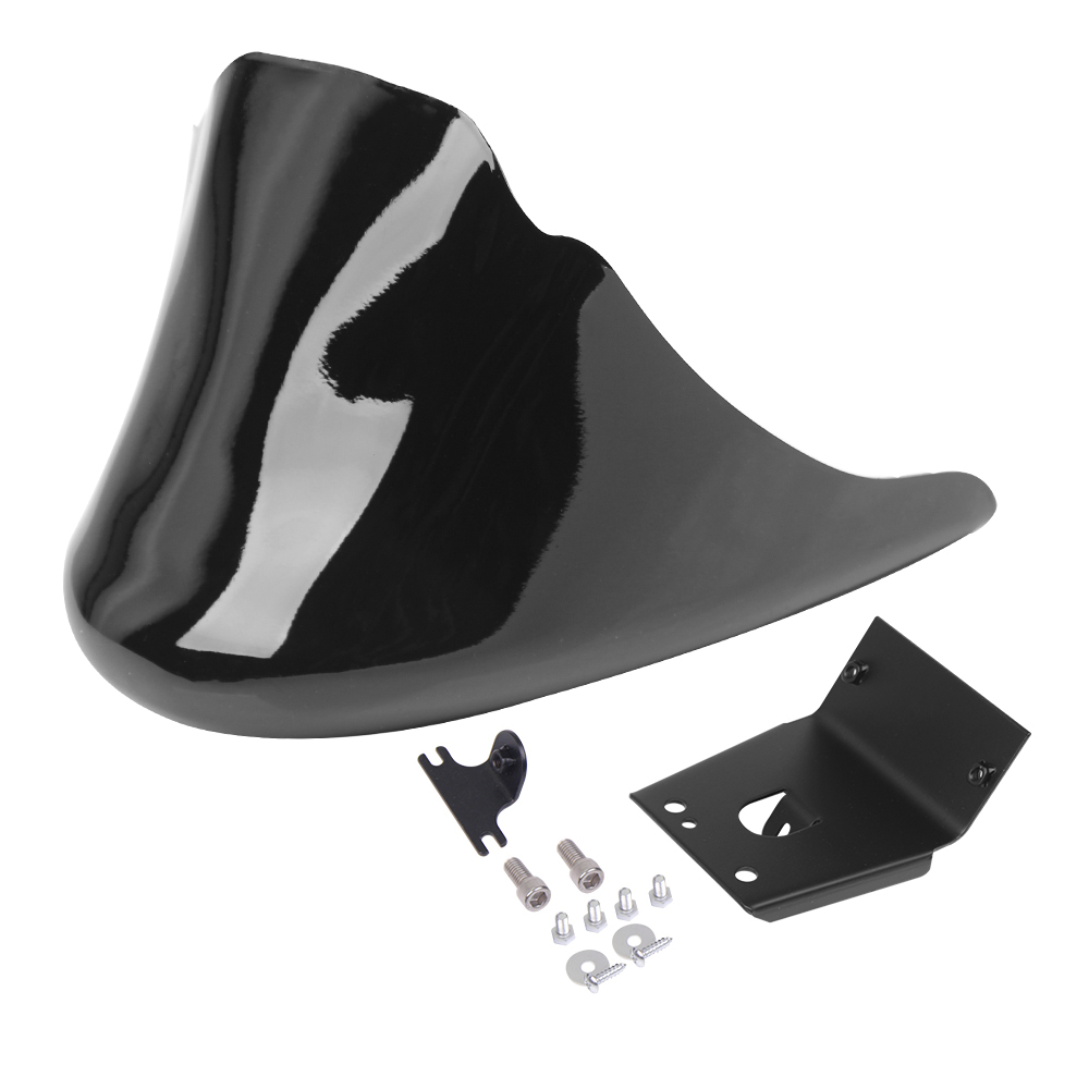 Motorcycle Black Front Bottom Spoiler Mudguard Air Dam Chin Fairing For <font><b>Harley</b></font> Sportster XL <font><b>Iron</b></font> <font><b>883</b></font> 1200 Models image