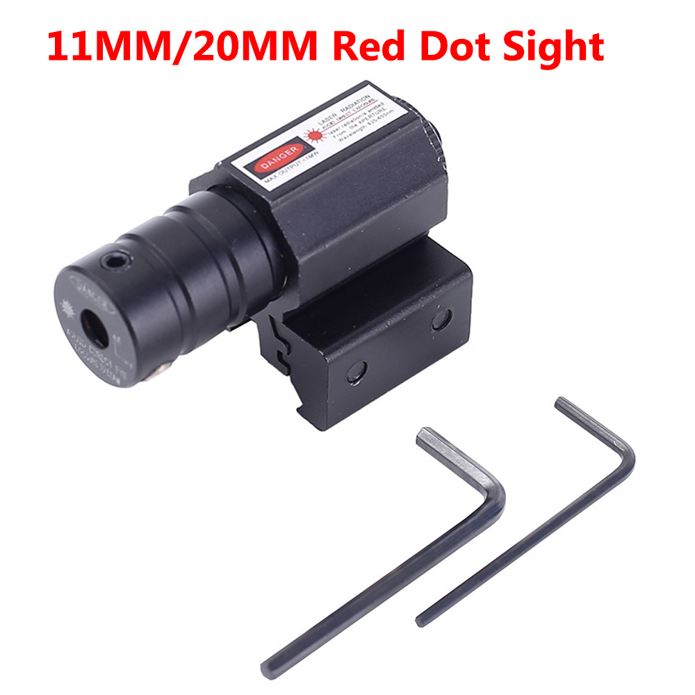 Powerful Laser Mini Red Dot Sight Optics Airsoft Hunting Laser-Pointer For Gun Rifle Pistol Shot Airsoft Riflescope Hunting