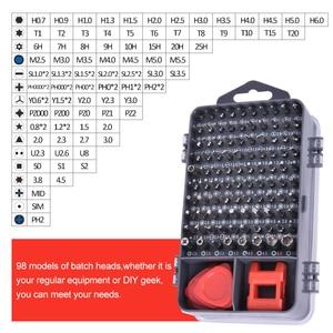 Image 3 - KINDLOV Screwdriver Set Magnetic Phillips Torx Bits Precision Screwdriver Bit Set 135 In 1 Repair Hand Tool Kit For Mobile Phone