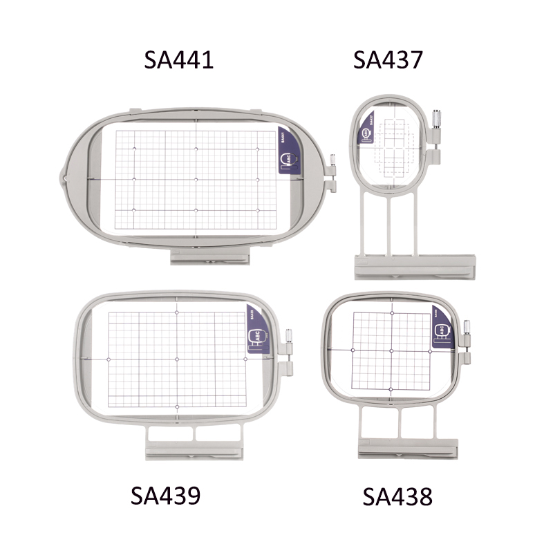 Sew Tech Embroidery Hoops for Brother Embroidery Machine Frames Set Innov-is 1500 1500D 2500 2800 4000D LE V3 V5 V7 Babylock