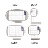 Sew Tech Embroidery Hoops for Brother Embroidery Machine Frames Set Innov is 1500 1500D 2500 2800 4000D LE V3 V5 V7 Babylock