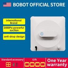 BOBOT, робот-пылесос для окон, Бескаркасный робот-пылесос для окон, высокое всасывание, анти-опускание, моющий робот для окон