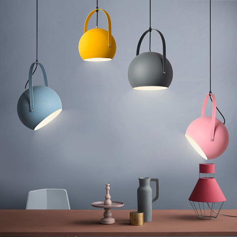 Modern Led Pendant Lights Colourful