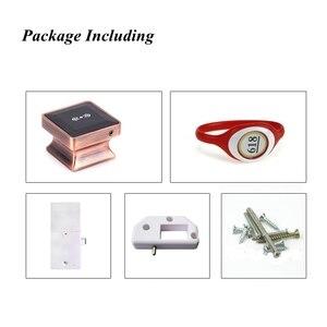 Image 5 - Cerradura electrónica para armario con tarjeta RFID, cerradura de puerta inteligente de inducción electrónica adecuada para armarios, hoteles y baños