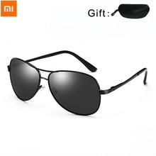 Youpin gafas de sol con visión nocturna para hombre, lentes de sol unisex con visión nocturna, protección contra rayos UVA y UVB