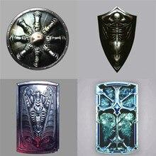 Rongji jewelry Game Dark Souls 3 shield keyring Keychain  skull Pendant men badge Jewelry