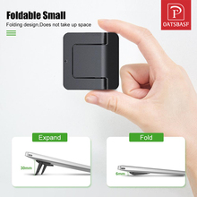 Mini Portable Invisible Laptop Holder Adjustable Cooling Stand Foldable Multifunctional Holder 1Pair for Laptop Notebook