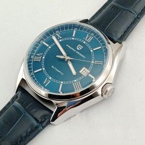 Image 1 - PAGANI relojes mecánicos para hombre, cronógrafo de lujo, automático, de cuero, resistente al agua, Masculino, 2020