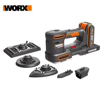 Worx 20V 5in1 Multi Sander WX820 Cordless Electric Sander Palm Sander Polisher Machine Sheet Sander Variable Speed Dust Collect