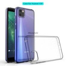 Huawei y5p anti-choque caso y5 prime 2020 tpu macio transparente à prova de choque caso do telefone para huawei y5p y5 p 2020