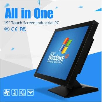 15 inch touch screen fanless mini pc 12v 128g ssd