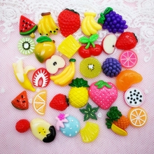 New Charms Beads Accessories DIY Phone Shell Jewelry Slime Filler  Kinetic Supplies Clay Mold for Kids Gift E