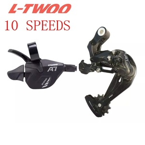 LTWOO Bicycle MTB 1X10 System 10 Speed Shifter Rear Derailleur Groupset for m610 m670 x5 x7 single crankset parts 10s system