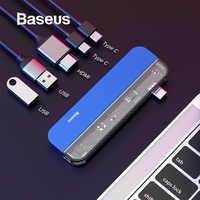 Baseus USB 3.0 HUB Type C HUB Port HDMI SD/TF Station d'accueil pour Microsoft Surface Pro 4/5/6 USB séparateur ordinateur accessoires